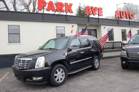 2007 Cadillac Escalade for sale at Park Ave Auto Inc. in Worcester MA