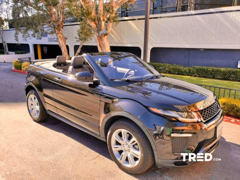 2017 Land Rover Range Rover Evoque Convertible for sale in Los Angeles, CA