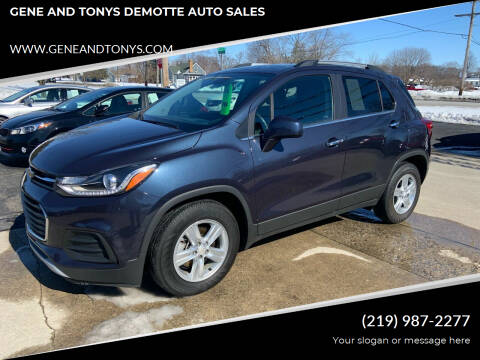 2019 Chevrolet Trax for sale at GENE AND TONYS DEMOTTE AUTO SALES in Demotte IN