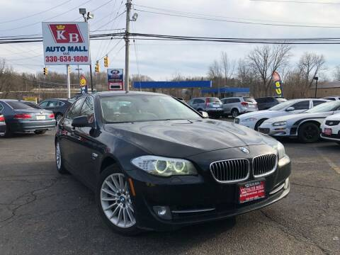 2011 BMW 5 Series for sale at KB Auto Mall LLC in Akron OH