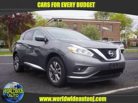 2016 Nissan Murano for sale at Worldwide Auto in Hamilton NJ