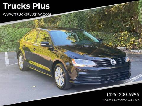 2016 Volkswagen Jetta for sale at Trucks Plus in Seattle WA