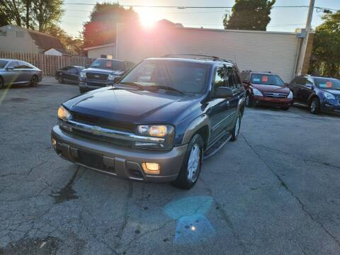 2002 Chevrolet TrailBlazer for sale at MOE MOTORS LLC in South Milwaukee WI