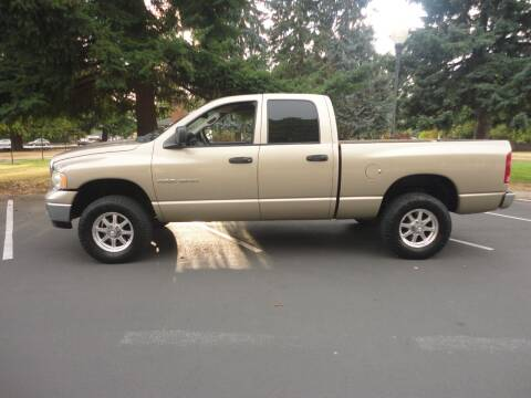 2003 Dodge Ram Pickup 1500 for sale at TONY'S AUTO WORLD in Portland OR