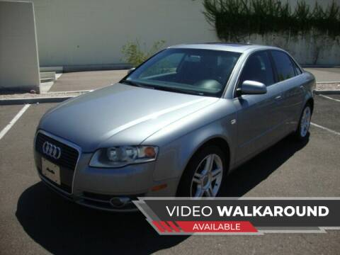 2007 Audi A4 for sale at FREDRIK'S AUTO in Mesa AZ