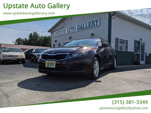 2011 Kia Optima for sale at Upstate Auto Gallery in Westmoreland NY