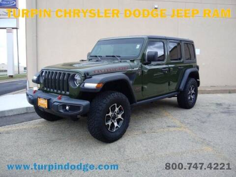 2020 Jeep Wrangler Unlimited for sale at Turpin Dodge Chrysler Jeep Ram in Dubuque IA