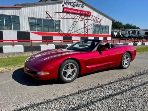 2001 Chevrolet Corvette for sale at Drager's International Classic Sales in Burlington WA