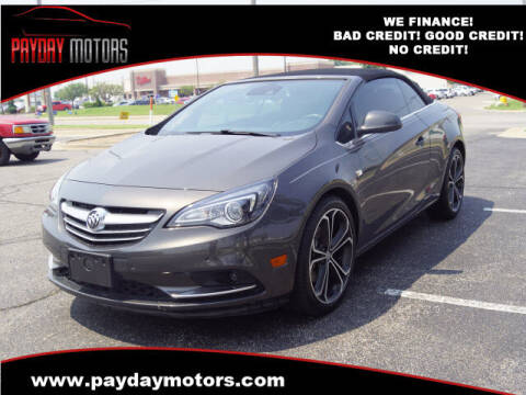 2016 Buick Cascada for sale at Payday Motors in Wichita KS