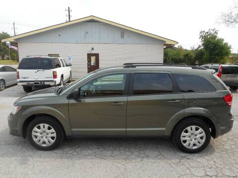 2017 Dodge Journey for sale at Discount Auto Mart LLC in Houston TX