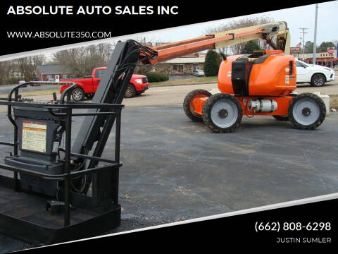 2012 JLG 600 AJ BOOM LIFT for sale at ABSOLUTE AUTO SALES INC in Corinth MS