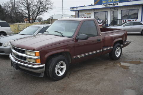 1998 Chevrolet C/K 1500 Series for sale at WF AUTOMALL in Wichita Falls TX