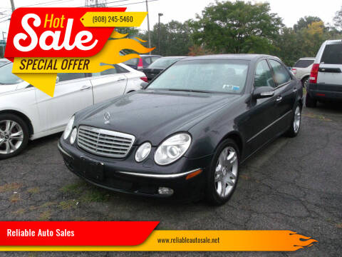 2003 Mercedes-Benz E-Class for sale at Reliable Auto Sales in Roselle NJ