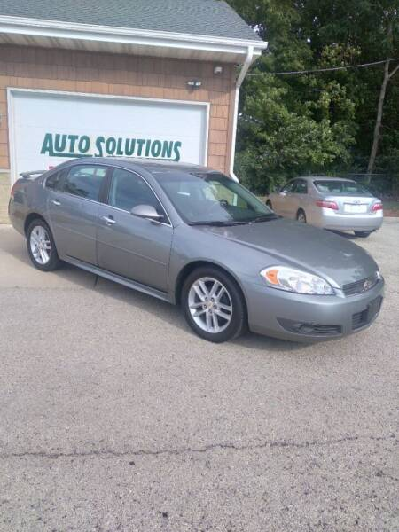 2009 Chevrolet Impala for sale at Auto Solutions of Rockford in Rockford IL
