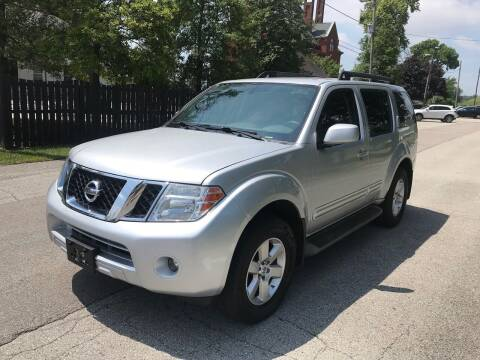 2012 Nissan Pathfinder for sale at Eddie's Auto Sales in Jeffersonville IN