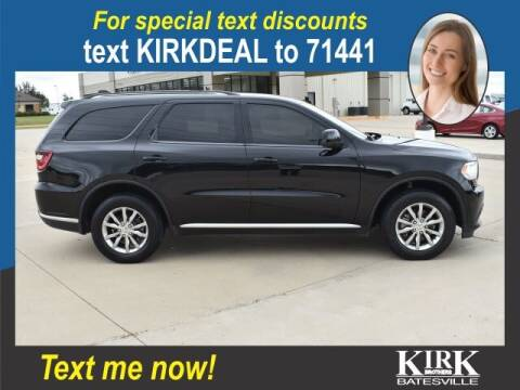 2017 Dodge Durango for sale at Kirk Brothers Batesville in Batesville MS