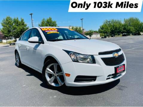 2014 Chevrolet Cruze for sale at Bargain Auto Sales LLC in Garden City ID
