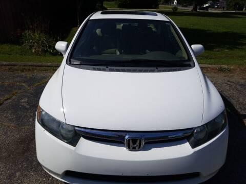 2008 Honda Civic for sale at David Shiveley in Mount Orab OH