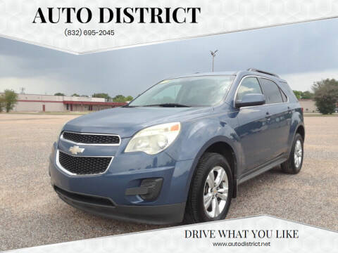2011 Chevrolet Equinox for sale at Auto District in Baytown TX