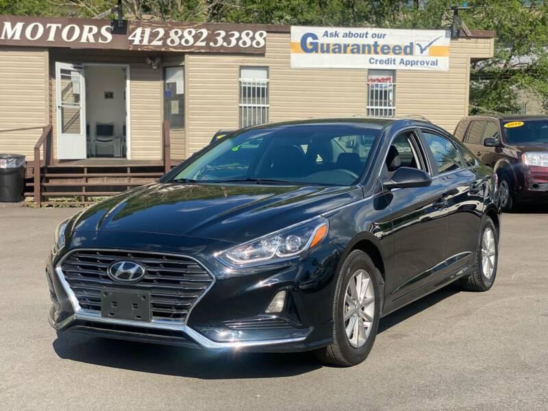 2018 Hyundai Sonata for sale at Ultra 1 Motors in Pittsburgh PA