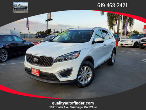 2018 Kia Sorento for sale at QUALITY AUTO FINDER in San Diego CA