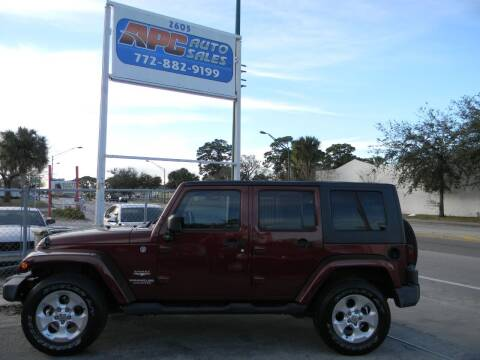 2007 Jeep Wrangler Unlimited for sale at APC Auto Sales in Fort Pierce FL