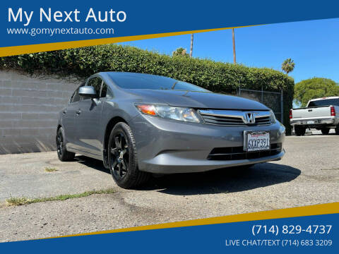 2012 Honda Civic for sale at My Next Auto in Anaheim CA