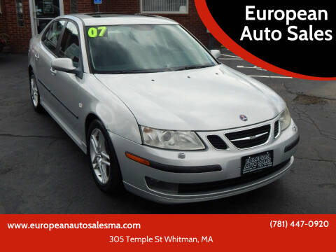 2007 Saab 9-3 for sale at European Auto Sales in Whitman MA