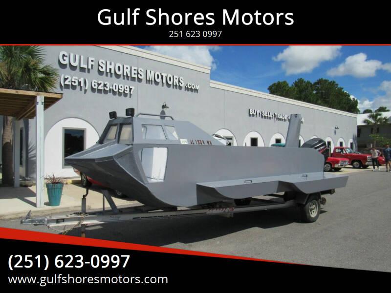 2011 HOMEMADE HOMEMADE ALUMINIUM for sale at Gulf Shores Motors in Gulf Shores AL