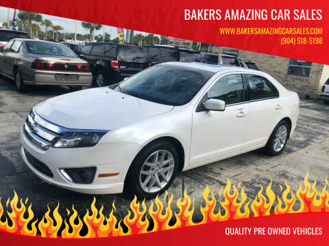 2012 Ford Fusion for sale at Bakers Amazing Car Sales in Jacksonville FL