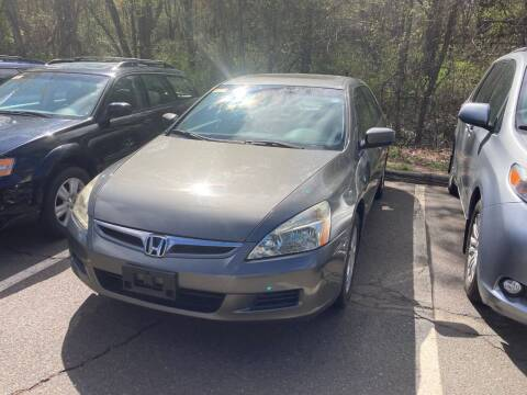 2006 Honda Accord for sale at ENFIELD STREET AUTO SALES in Enfield CT