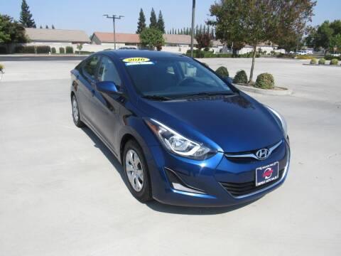 2016 Hyundai Elantra for sale at Repeat Auto Sales Inc. in Manteca CA