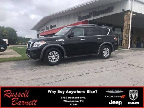 2019 Nissan Armada for sale at Russell Barnett Chrysler Dodge Jeep Ram in Winchester TN