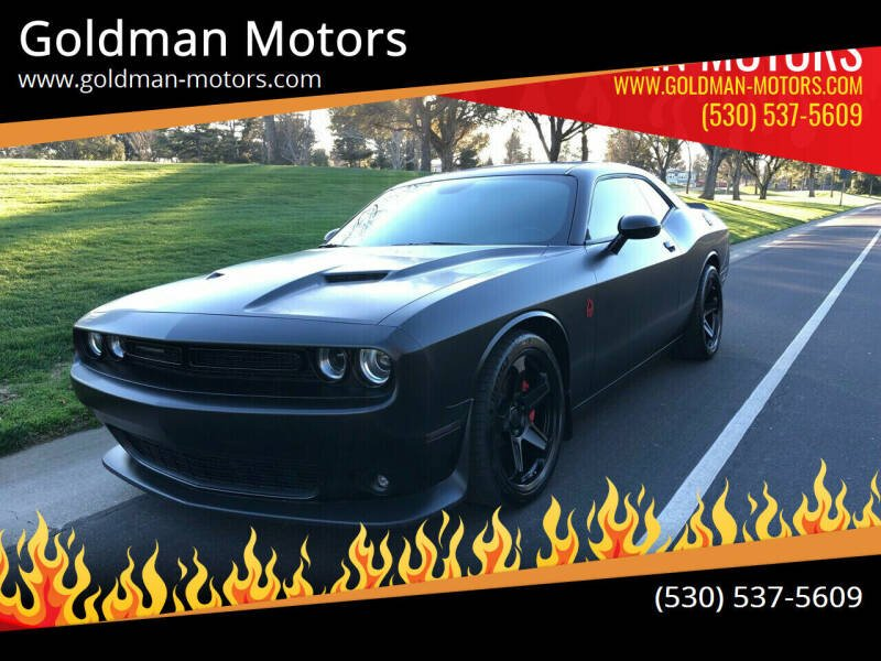 2018 Dodge Challenger for sale at Goldman Motors Corp in Stockton CA