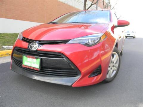 2017 Toyota Corolla for sale at Dasto Auto Sales in Manassas VA