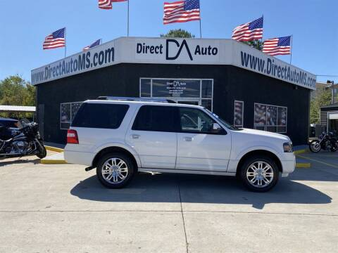 2011 Ford Expedition for sale at Direct Auto in D'Iberville MS
