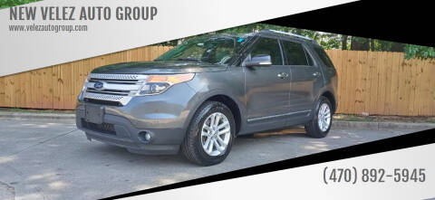 2015 Ford Explorer for sale at NEW VELEZ AUTO GROUP in Gainesville GA