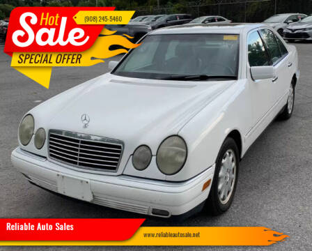 1998 Mercedes-Benz E-Class for sale at Reliable Auto Sales in Roselle NJ