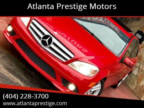2010 Mercedes-Benz C-Class for sale at Atlanta Prestige Motors in Decatur GA