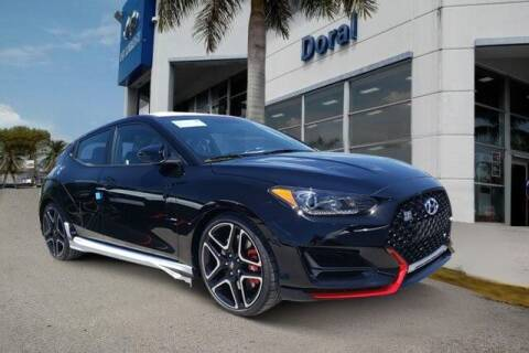 2020 Hyundai Veloster N for sale at DORAL HYUNDAI in Doral FL