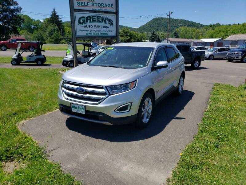 2018 Ford Edge for sale at Greens Auto Mart Inc. in Wysox PA
