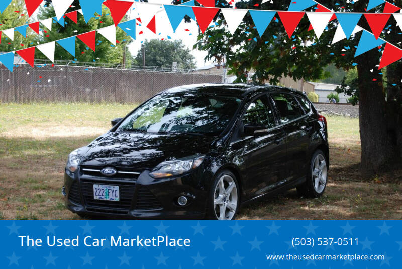 2012 Ford Focus for sale at The Used Car MarketPlace in Newberg OR