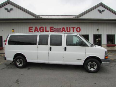 2003 Chevrolet Express Passenger for sale at Eagle Auto Center in Seneca Falls NY