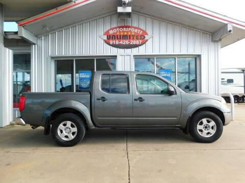 2005 Nissan Frontier for sale at Motorsports Unlimited in McAlester OK