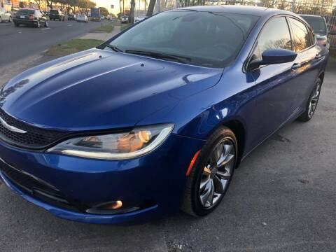 2015 Chrysler 200 for sale at Texas Luxury Auto in Houston TX