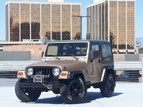 1999 Jeep Wrangler for sale at Pammi Motors in Glendale CO