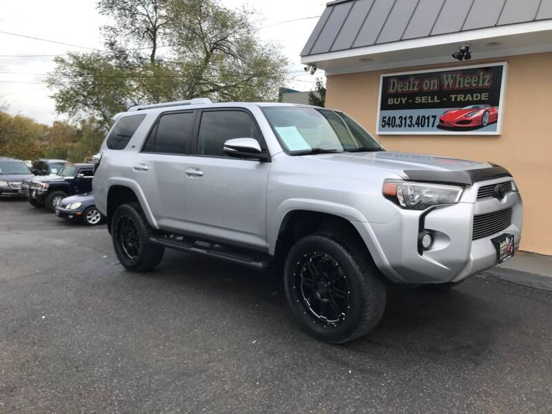 2016 Toyota 4Runner for sale at DEALZ ON WHEELZ in Winchester VA