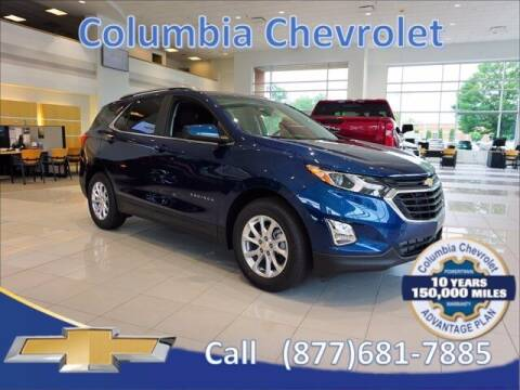 2021 Chevrolet Equinox for sale at COLUMBIA CHEVROLET in Cincinnati OH