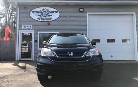 2011 Honda CR-V for sale at Leo's Auto Sales and Service in Taunton MA