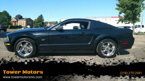 2005 Ford Mustang for sale at Tower Motors in Brainerd MN